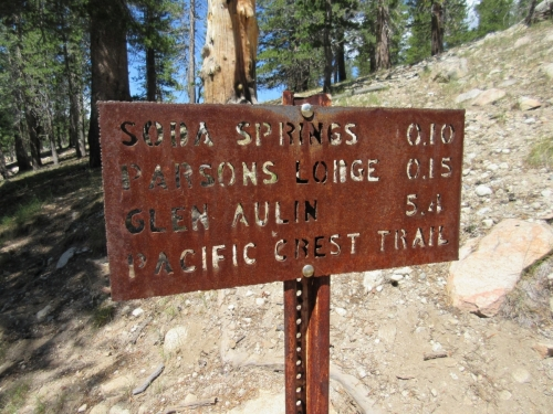 Pacific Crest Trail Head - Yosemite